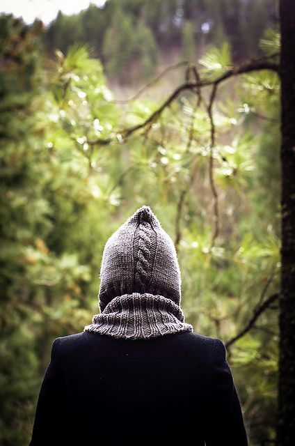Ravelry: Through the Woods Hoodlet pattern by Kalurah