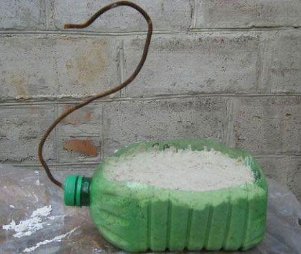 Заготовки из пластиковой бутылки для лебедя