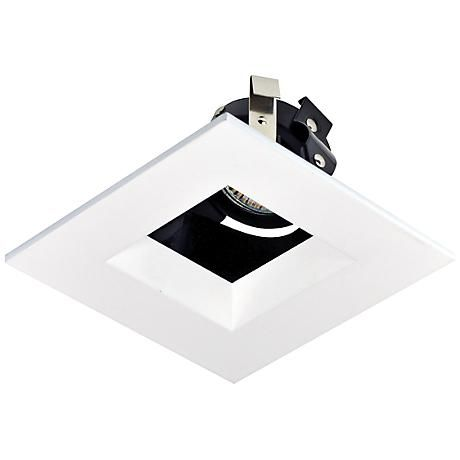 """Recessed Trim for 4"""" Housing with Adjustable Square Opening"""