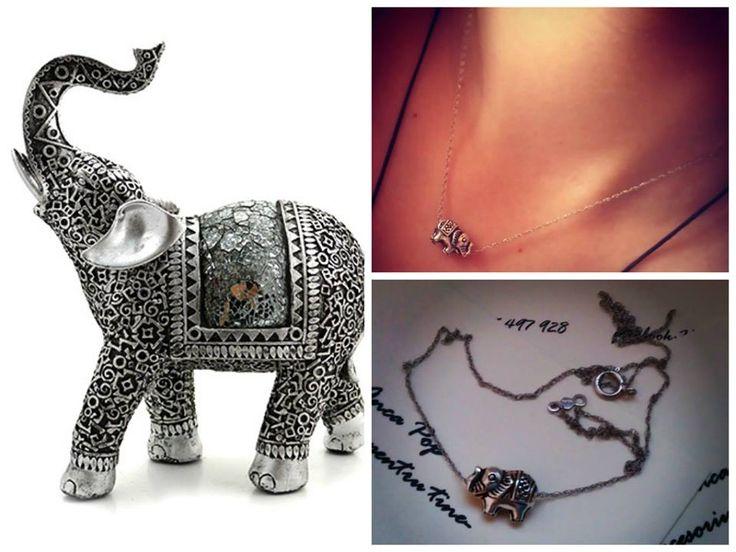 Elefantul are o simbolistica variata in functie de cultura. Iti propunem lantisorul din argint cu accesoriu sub forma de elefant. Pentru tine ce simbolizeaza acesta?