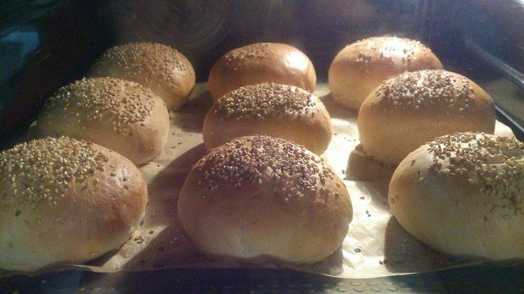 Pan de hamburguesas Thermomix