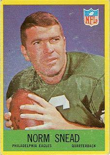 1967 Football Cards: Philadelphia Eagles