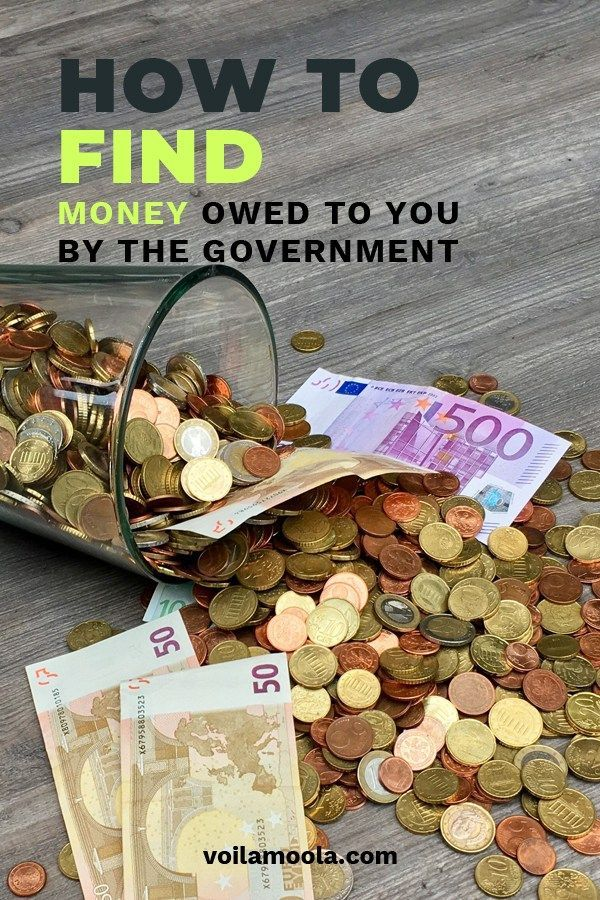 How To Find Money Owed To You From The Government