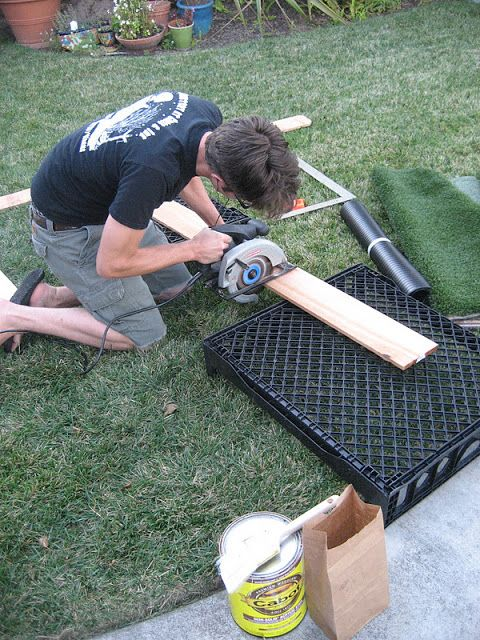 The Adventures Of Kym Amp Dustin Diy Dog Potty Patch Fake