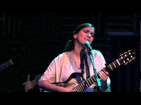 """Marta Gomez sings """" Cancion del naranjo seco"""" live at Joes Pub May 17, 2011"""