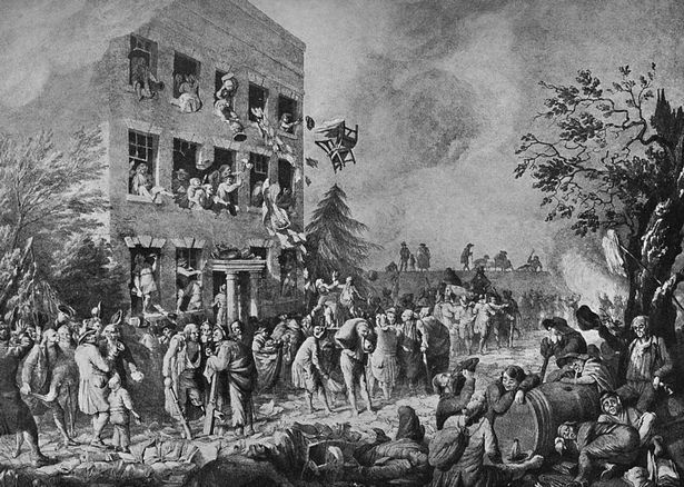 what happened on bastille day july 14