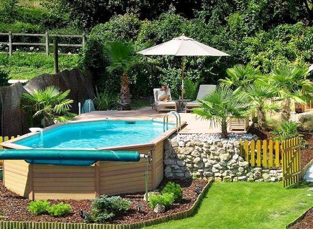 Bewundernswerte Oberirdische Pool Ideen Kleine Hinterhof Pools Schwimmbad Designs Pool Gartenbau