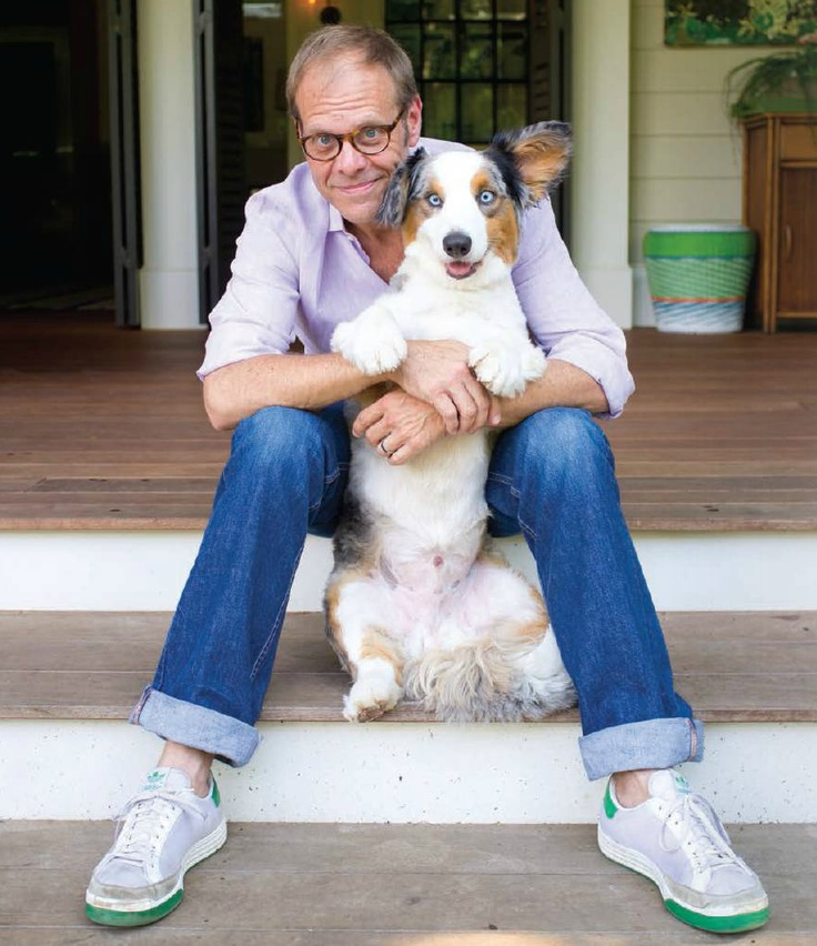 Alton Brown and his Cardi Sparky