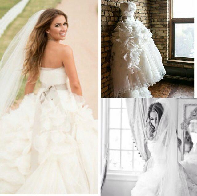 Jessie james decker wedding dress