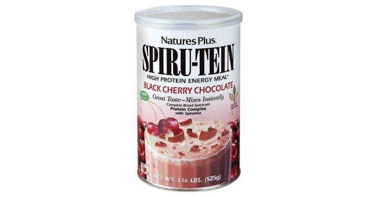 Free black cherry chocolate spirutein shake sample