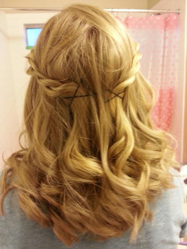 Curled Short Hair Hair Pinterest Curl Short Hair