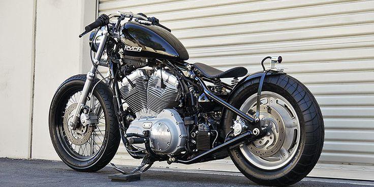 Harley Sportster Bolt-On Hardtail Bobber Kit ('04-Present) - Ryca Motors Online Store
