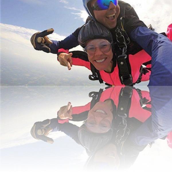 The Feeling Of Tandem Skydiving Skydiving Tandem Diving