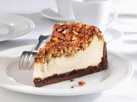 Medový cheesecake