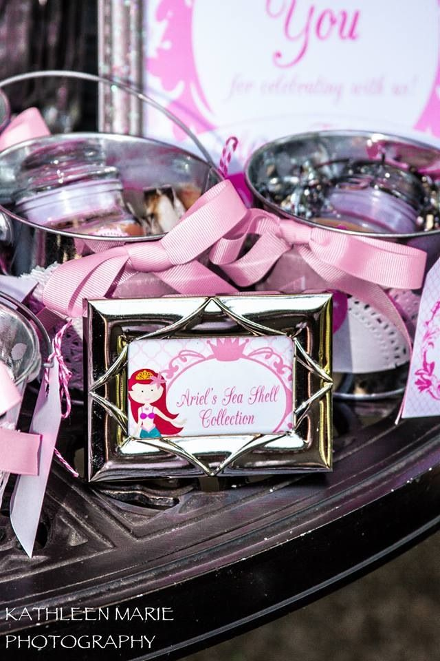 Beautiful Princess Party favors