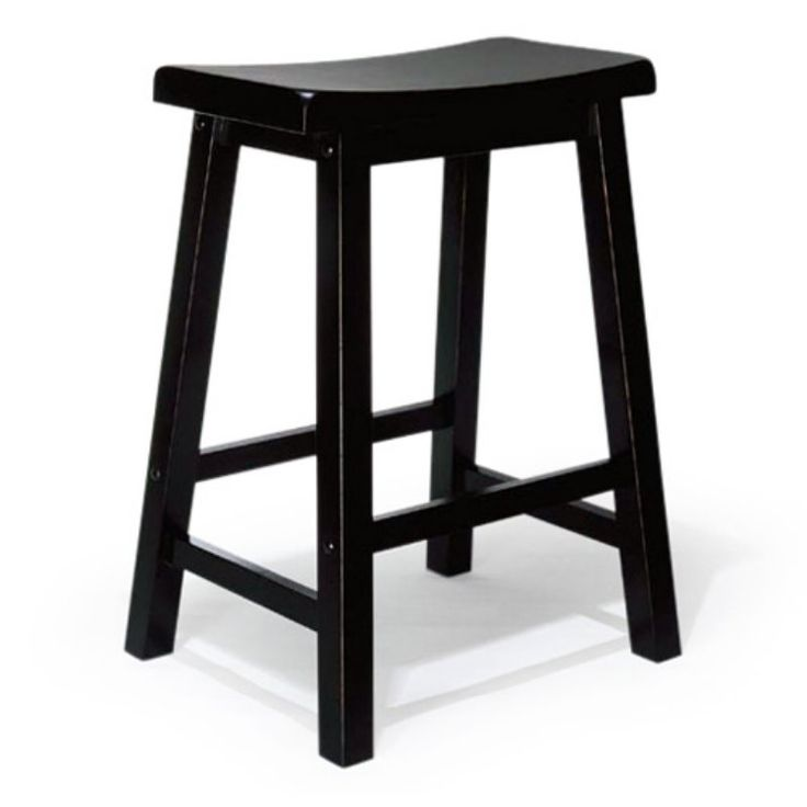 Powell 24-in. Antique Black Counter Stool - 502-430