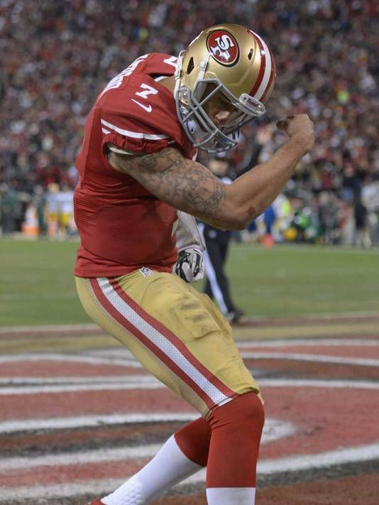 SAN FRANCISCO – Colin Kaepernick typically is a low-key, keep-it-short guy with the media. Even he had to cut loose a few superlatives after what he did Saturday night in his playoff debut to put the San Francisco 49ers within one win of the Super Bowl trip that eluded them a year ago.