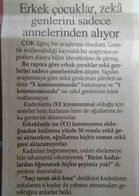 OĞULLARIM BANA ÇEMİŞ..