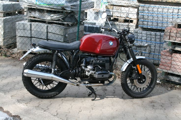 BMW R65 Scrambler Tracker  248 Motorrad