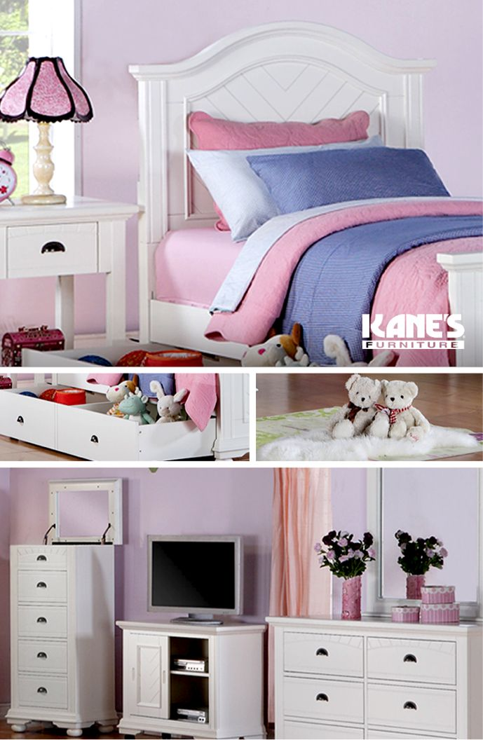 Brooke White Twin Bed Collection  Childs BedroomBedroom SetsFull. 17 Best images about Kane s Kids on Pinterest   Furniture  Child