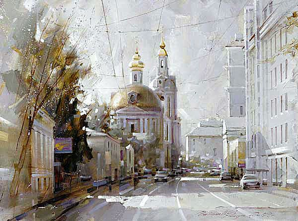 Художник Рамиль Гаппасов