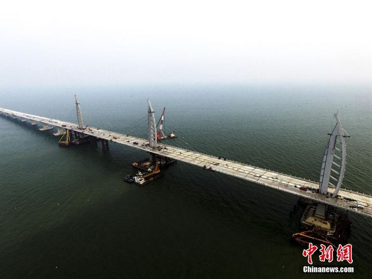World's longest cross-sea bridge completed - People's Daily Online
