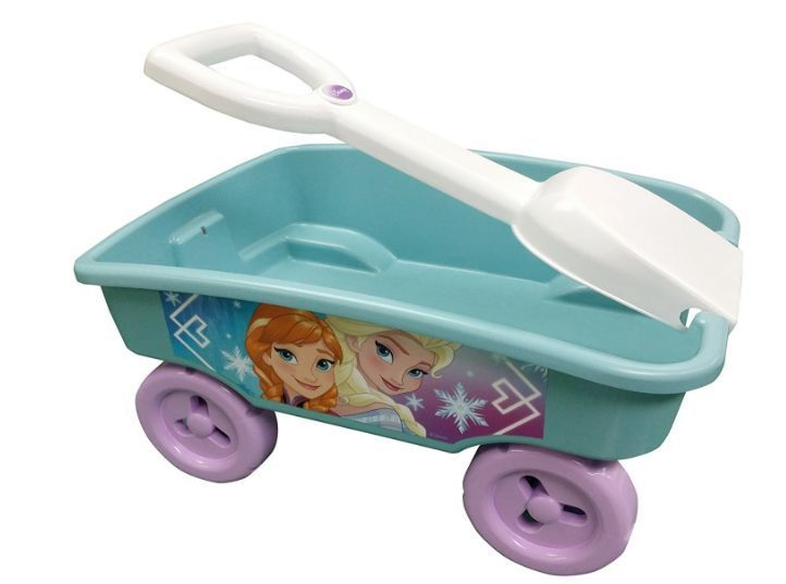 Frozen Toy Wagon Elsa Anna Store Play Toys Big Wheels Pull Easily Good XMAS Gift #DisneyFrozen