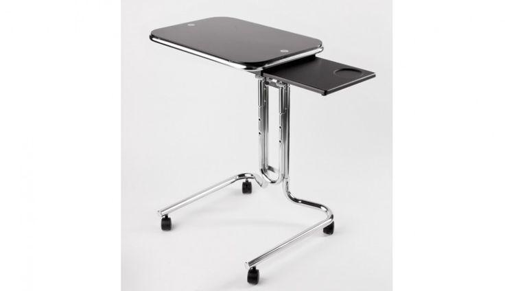 Dla zapracowanych i lubiących proste rozwiązania firma Meble Biurowe prezentuje stolik pod laptopa wykonany z chromowanego metalu. http://www.mega-meble.pl/produkt- stolik_pod_laptopa-1480
