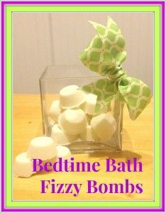 DIY Bedtime Bath Fizzy Bombs with Lavender Essential Oil