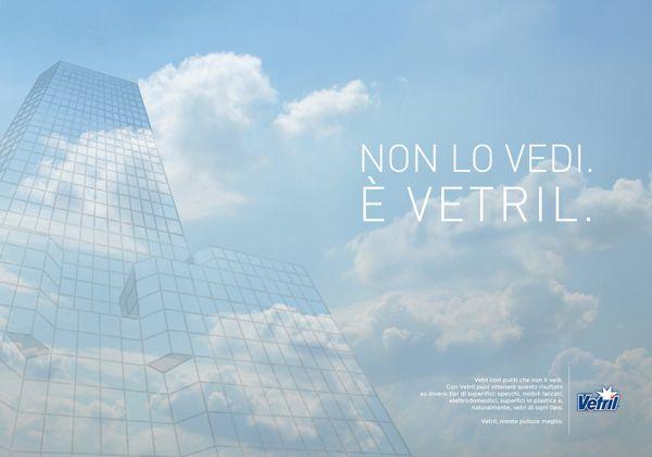 Vetril | ADV Campaign | by Eugenio De Riso, via Behance