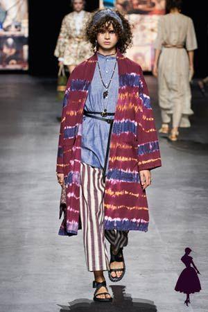 La pasarela hippie de Christian Dior, ¡te va a encantar! Dior Fashion, Fashion Week, Paris Fashion, Boho Fashion, Fashion Show, Fashion Design, Fashion Trends, Christian Dior Paris, Cristian Dior