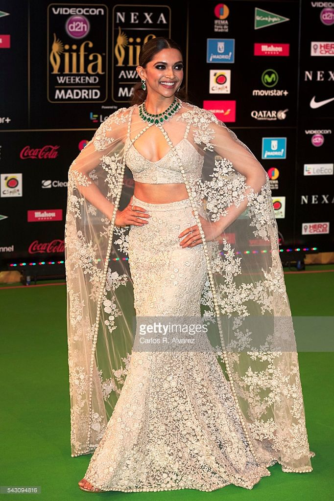 Deepika Padukone attends the 17th IIFA Awards (International Indian Film Academy Awards) at Ifema on June 25, 2016 in Madrid, Spain.