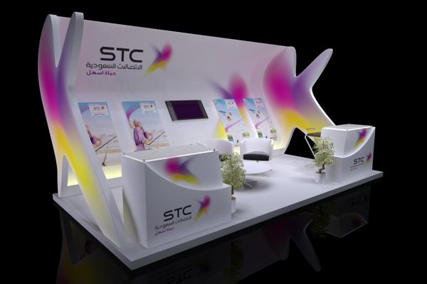 STC by Ahmed Mansour, via Behance