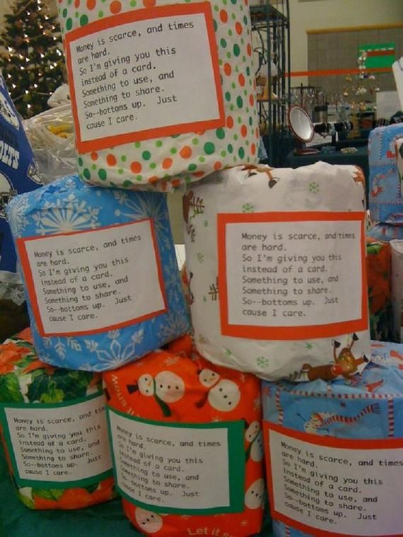 Christmas Gift Toilet Paper in 2020 Christmas fun, Gag