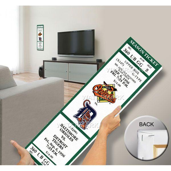 Eddie Murray 500 Home Run Mega Ticket - Baltimore Orioles - $79.99