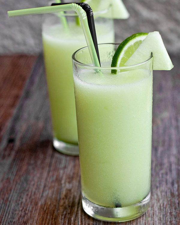 Melon Lime Cooler by skinnyms #Beverage #Melon #Lime #Healthy