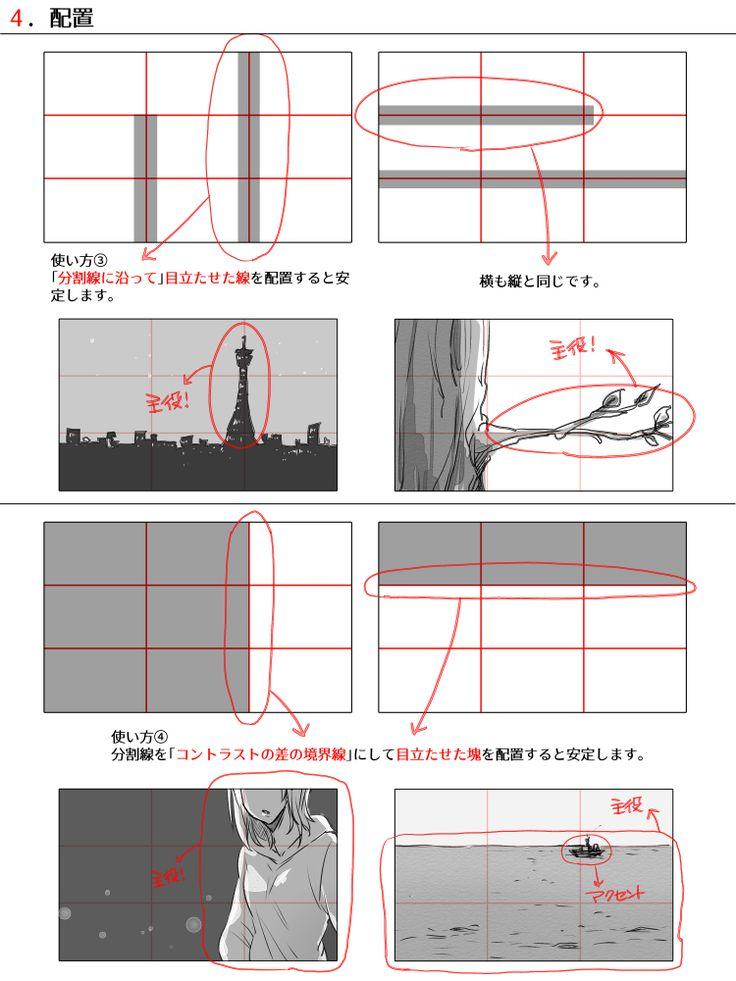 色んな構図の作り方 [11]