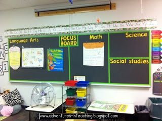 Focus Board u0026 other cool classroom design ideas & 28 best Bulletin Boards images on Pinterest | Classroom ideas ...