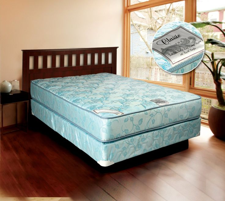 comfort classic gentle firm twin size mattress and box spring