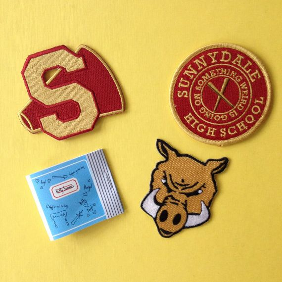 Buffy the Vampire Slayer inspired fan patch and by JennisPrints