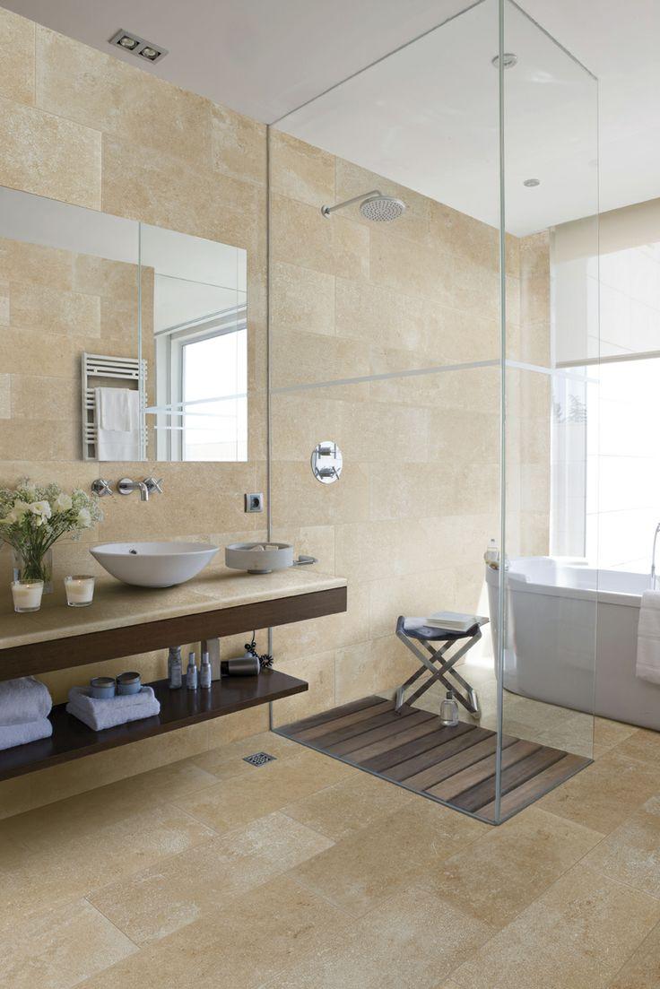 Color mistery sand.  #rosagres #mistery #totalcoordination #indoorsdesign #bathrooms #gresporcelanico #porcelainstoneware #trend