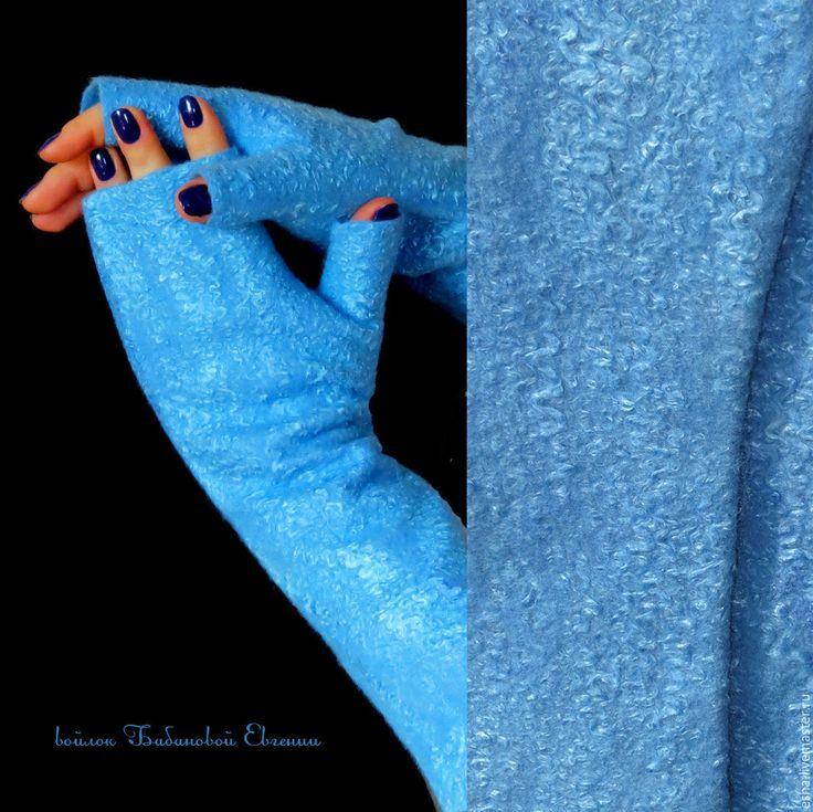 Купить Валяные митенки Синяя птица - митенки, митенки синие, митенки валяные, митенки теплые