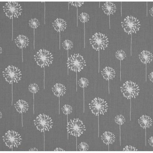 Dandelion in Grey Home Decor Coton Fabric - Order Online - Fabric Traders