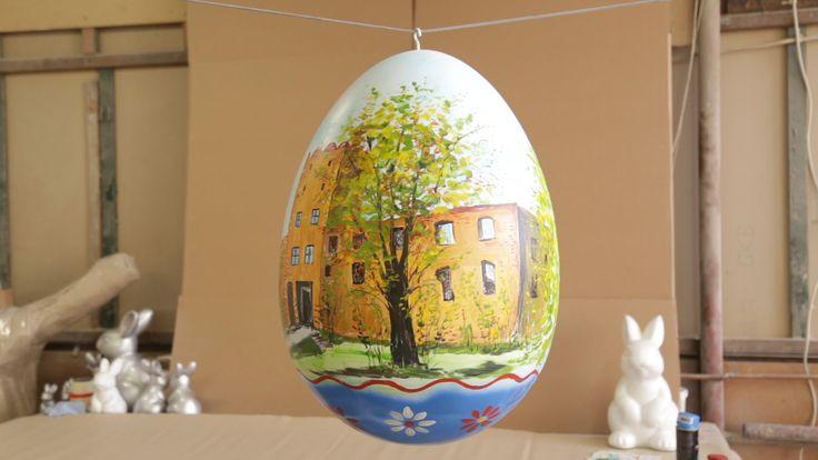 Pisanki jak malowane! | Inspirowani Naturą I large eggs for public spaces terra group