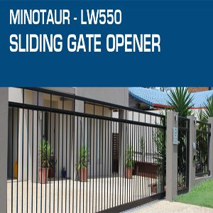 Our sliding gate opener is suitable for gates up to 5mtrs long, 400kgs in weight and must open and close along a completely flat surface (giving you approximately 30 openings and 30 closings on a fully charged battery).  For more visit https://www.solarpowerstore.com.au/shop/product/sliding-gate-opener-solar/