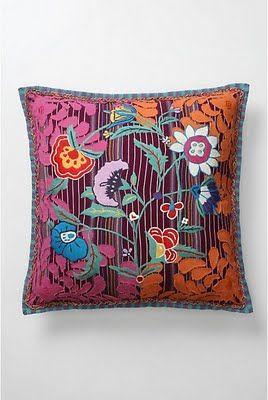 Beautiful bohemian pillows DIY