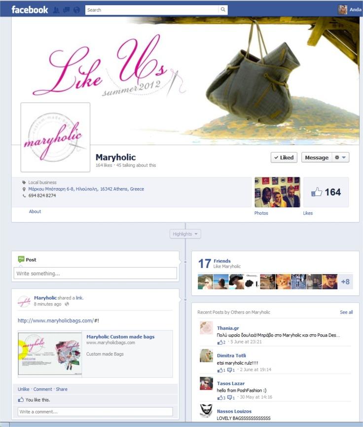 Maryholic Facebook Fan Page