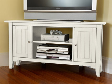 Painted Cottage Corner Tv Stand Stands At L Bean