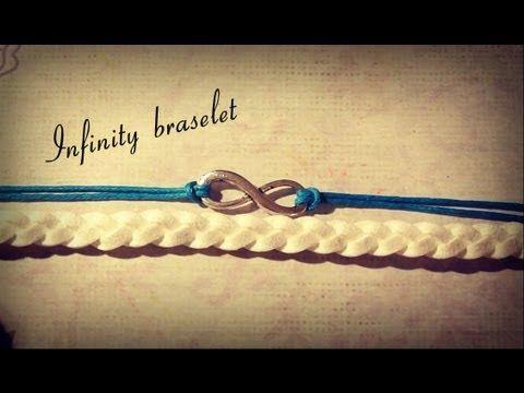 DIY: Двойной браслет со знаком бесконечности.