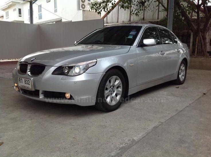 ขายรถเก๋ง BMW Series 5 บีเอ็มดับบลิว รถปี2004 สีเทา รหัสประกาศ 5480